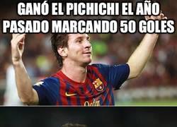 Enlace a Cómo ha cambiado el pichichi con Messi y CR7