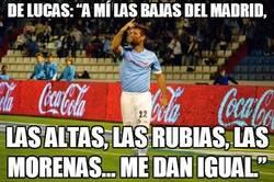 """Enlace a De Lucas: """"A mí las bajas del Madrid..."""
