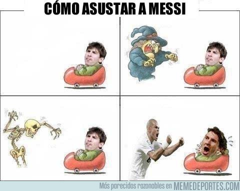 30887 - Cómo asustar a Messi
