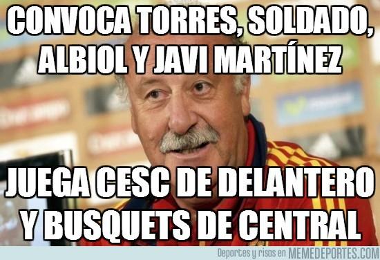 31157 - Convoca Torres, Soldado, Albiol y Javi Martínez