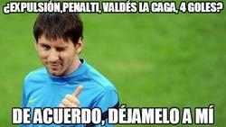 Enlace a ¿Expulsión, penalti, Valdés la caga, 4 goles?