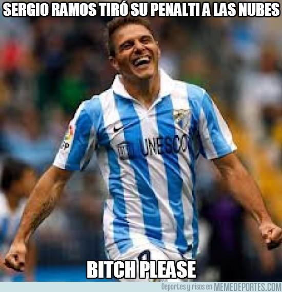 31273 - Sergio Ramos tiró su penalti a las nubes