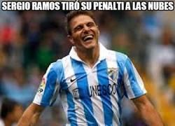 Enlace a Sergio Ramos tiró su penalti a las nubes