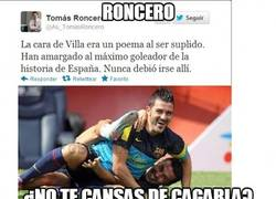 Enlace a Roncero, ¿no te cansas?