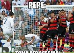 Enlace a La nueva táctica de Pepe