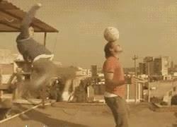 Enlace a GIF: Street football
