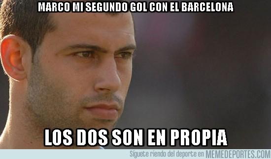31905 - Marco mi segundo gol con el Barcelona