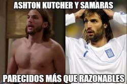 Enlace a Ashton Kutcher y Samaras