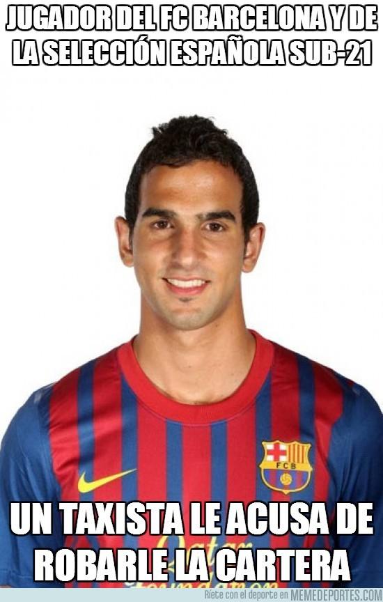 32071 - Jugador del FC Barcelona y de la selección Española sub-21