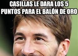 Enlace a Casillas le dará los 5 puntos para el balón de oro