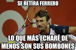 Enlace a Se retira Ferrero