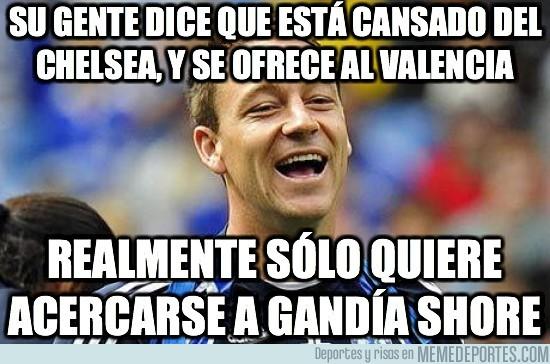 32408 - Su gente dice que está cansado del Chelsea y se ofrece al Valencia