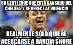 Enlace a Su gente dice que está cansado del Chelsea y se ofrece al Valencia