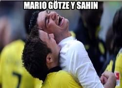 Enlace a Mario Götze y Sahin, relación sospechosa