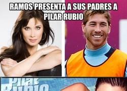 Enlace a Ramos, su novia y su padre