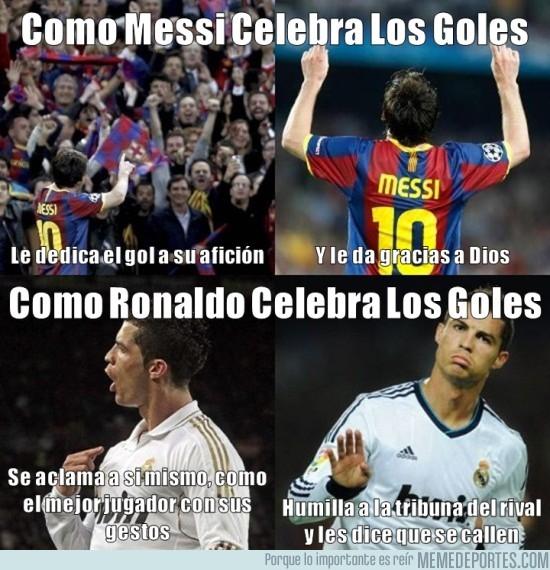 32559 - La Celebraciones de Messi y Ronaldo