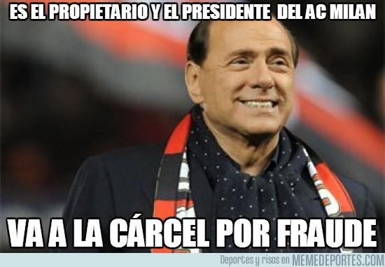 32606 - Propietario y presidente del AC Milan