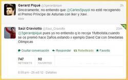 Enlace a Zas de Saul Craviotto a Piqué