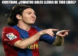 Enlace a Cristiano, ¿cuántos goles llevas de falta?