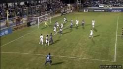 Enlace a GIF: Nicolas Muñoz (Metapan) mete un golazo vs LA Galaxy