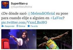 Enlace a La inspiración de Melendi por @supermanumolina