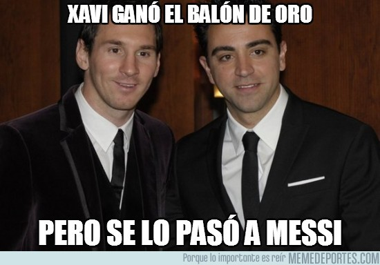 33075 - Xavi ganó el balón de oro