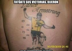 Enlace a Tatúate sus victorias, dijeron