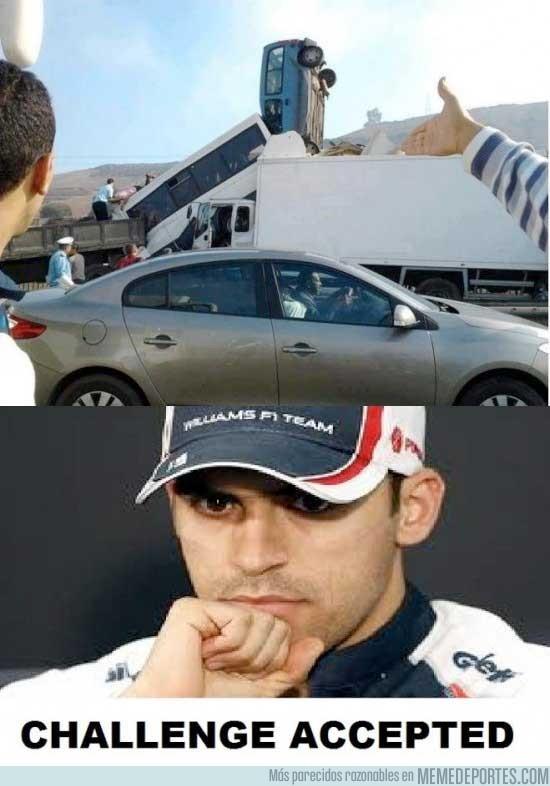 33403 - No hay retos imposibles para Pastor Maldonado