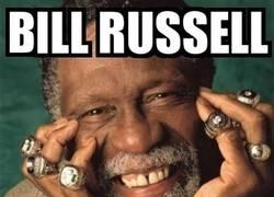 Enlace a Bill Russell, leyenda de la NBA