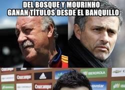 Enlace a Del Bosque y Mourinho