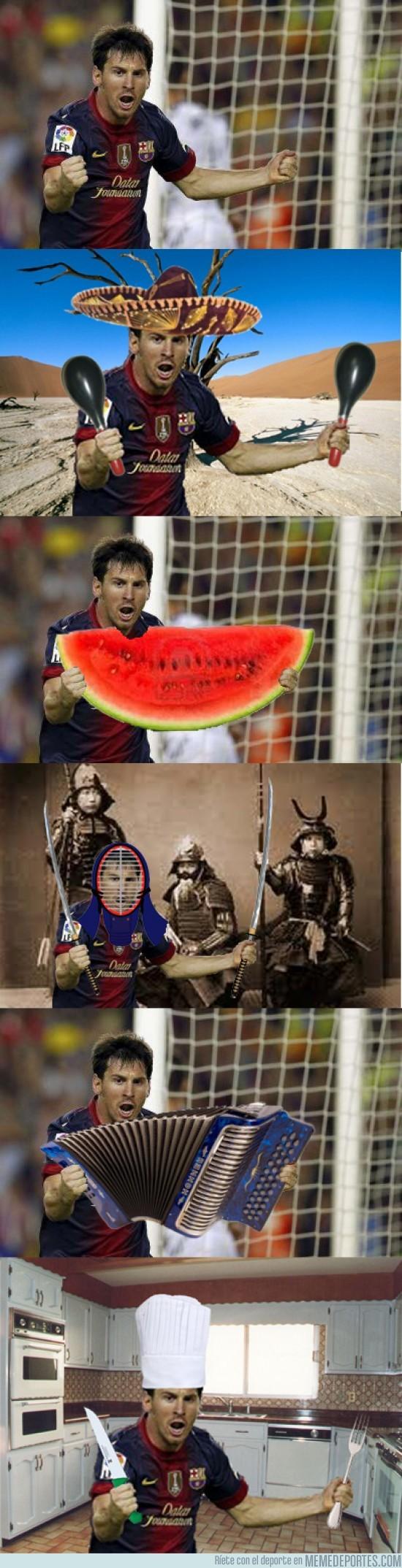 33626 - Chopeando a Messi