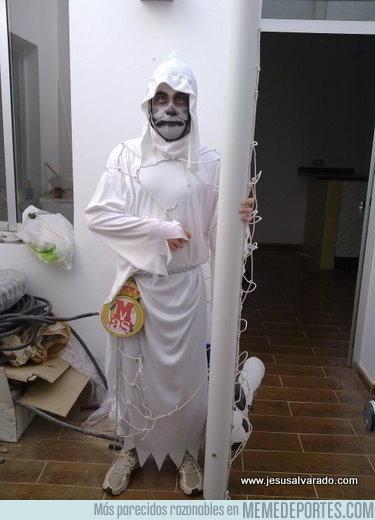 33940 - Disfrazarse de Gol Fantasma en Halloween