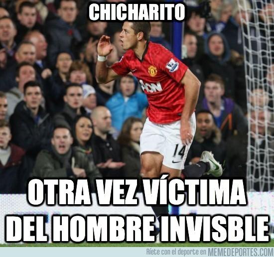 34019 - Chicharito y el hombre invisible