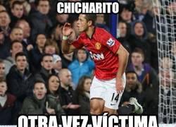 Enlace a Chicharito y el hombre invisible