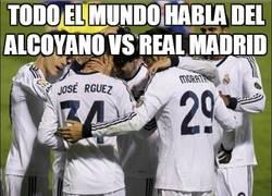 Enlace a Todo el mundo habla del Alcoyano vs Real Madrid
