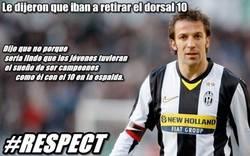 Enlace a Del Piero #Respect
