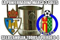 Enlace a La Ponferradina marca 3 goles
