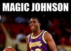 Enlace a Magic Johnson