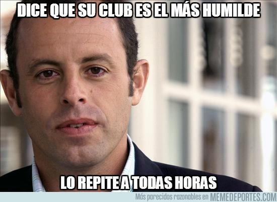 34381 - Dice que su club es el más humilde
