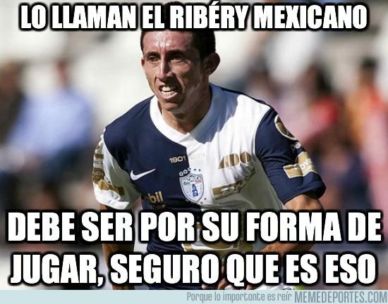 34443 - Lo llaman el Ribéry Mexicano