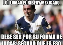 Enlace a Lo llaman el Ribéry Mexicano