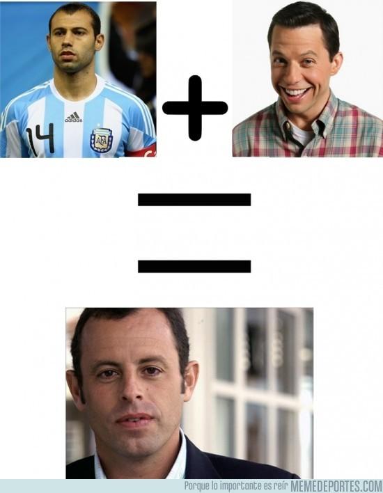 34549 - Mascherano + Alan = Sandro Rosell