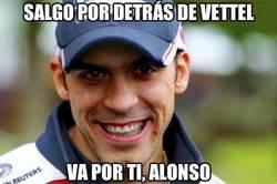 Enlace a Salgo por detrás de Vettel