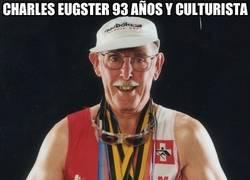 Enlace a Charles Eugster 93 años y culturista