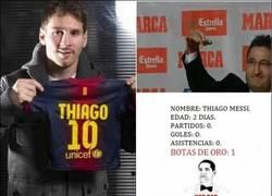 Enlace a Thiago Messi