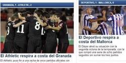 Enlace a Sport, originalidad desbordante en sus titulares