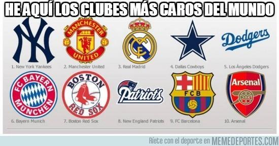35364 - Clubes más caros del mundo
