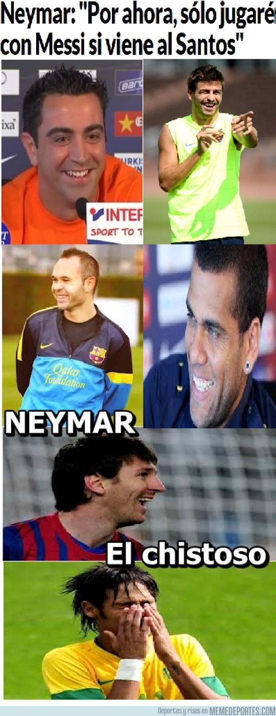 35387 - Neymar, el chistoso