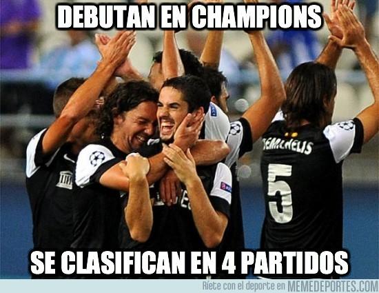 35816 - Debutan en Champions
