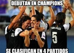 Enlace a Debutan en Champions